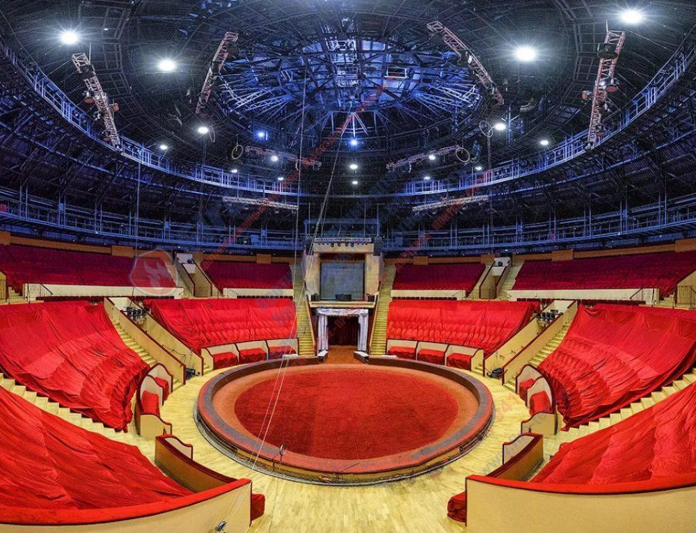 Строительство инновационных цирков в России